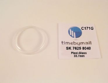 New Watch Crystal For SEIKO 7625 8040 SPORTSMATIC Plexi-Glass Spare Part C171G
